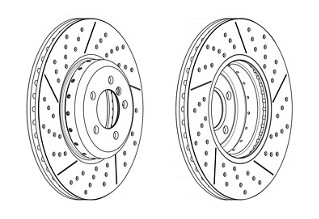 Brake-disc-drawing