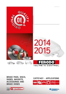 Downloadable Auto Parts & Brake Pads Catalog | Ferodo